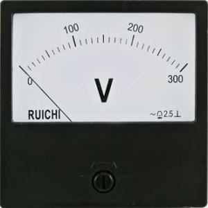 Вольтметр AC Ц42300 80x80 (аналог) 300VAC