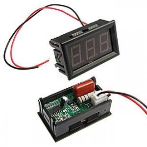 Вольтметр AC (цифровой) YB27A 60-500VAC green