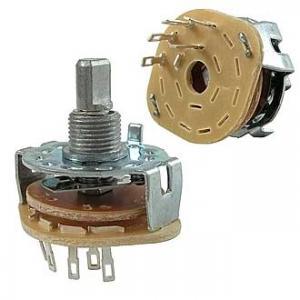 Галетный переключатель SR25-1-1-4 на провод