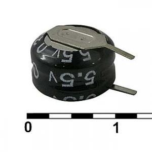 Ионистор 5R5D10F33V 0.33F 5.5V