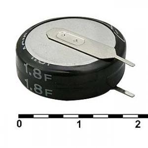 Ионистор 5R5D20F180V 1.8F 5.5V