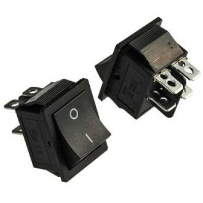 Клавишный переключатель RWB501 on-off (black) 16A 250V