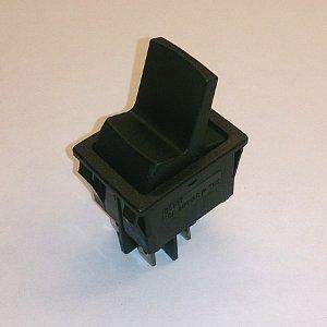 Клавишный переключатель SC767 on-off (black) 15A 250V