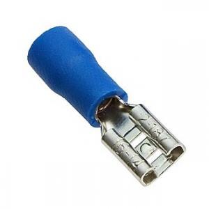 Клемма ножевая изолированная FDD2-187 blue 4.8мм