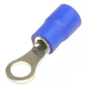 Клемма тип О изолированная RVS2-4 blue 4мм
