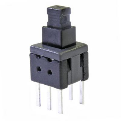 Кнопочный переключатель PB22E06 без фиксации 6x6x10 mm