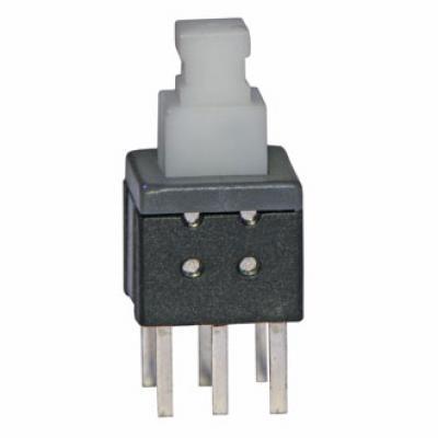 Кнопочный переключатель PB22E06 с фиксацией 6x6x10 mm