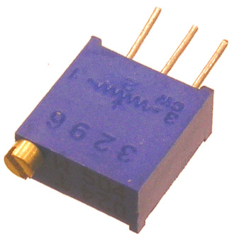 Подстроечный резистор 3296W 0,5W 1,5Ком (многооборотный)