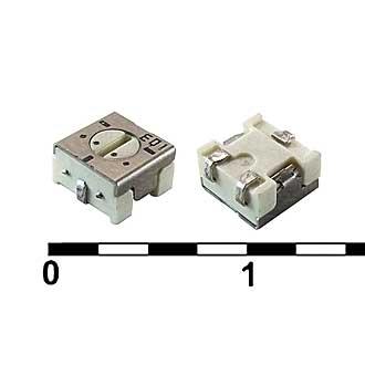 Подстроечный резистор SMD 3314J 100к