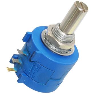 Переменный резистор 3590S-2 (многооборотный) 2W 100om