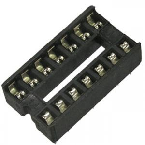 Панель для микросхем SCS14 dip-14 (2.54mm)