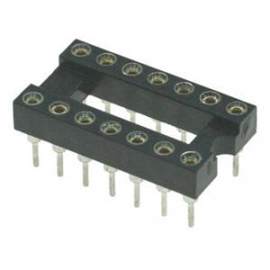 Панель для микросхем SCSM-14 dip-14 (2.54mm) (цанговые)