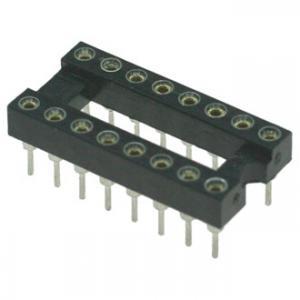 Панель для микросхем SCSM-16 dip-16 (2.54mm) (цанговые)