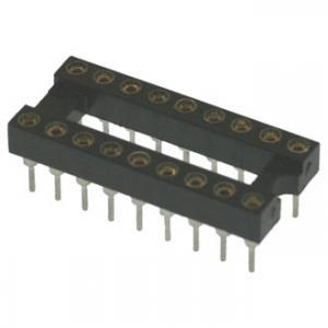 Панель для микросхем SCSM-18 dip-18 (2.54mm) (цанговые)