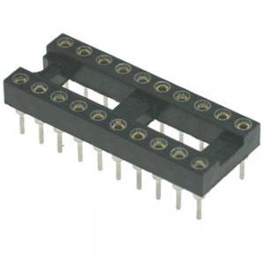 Панель для микросхем SCSM-20 dip-20 (2.54mm) (цанговые)