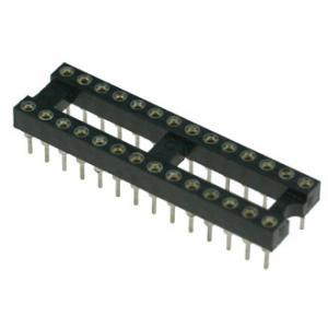 Панель для микросхем SCSM-28 dip-28 (2.54mm) (цанговые)