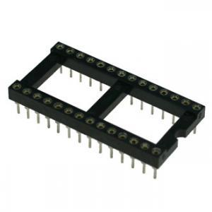 Панель для микросхем SCLM28 dip-28 (2.54mm) (цанговые)