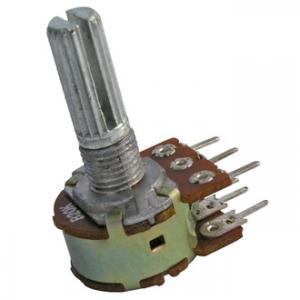 Переменный резистор 16k2KC 0.25W 2x10k