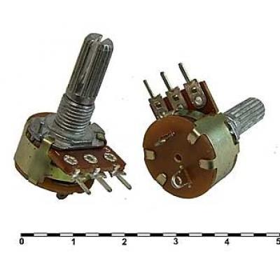Переменный резистор S16KN1-B-L20KC 50к