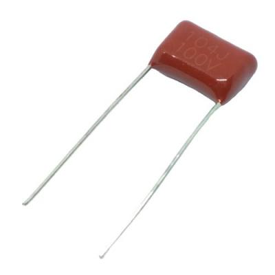Металлопленочный конденсатор 0,1uf/100v CL-21