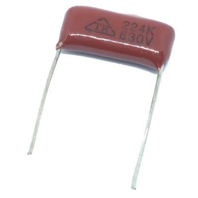 Металлопленочный конденсатор 0,22uf/630v CL-21