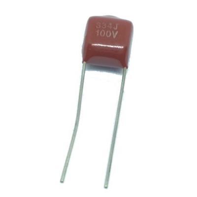 Металлопленочный конденсатор 0,33uf/100v CL-21