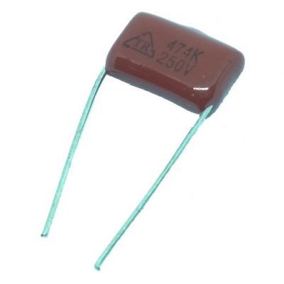 Металлопленочный конденсатор 0,47uf/250v CL-21