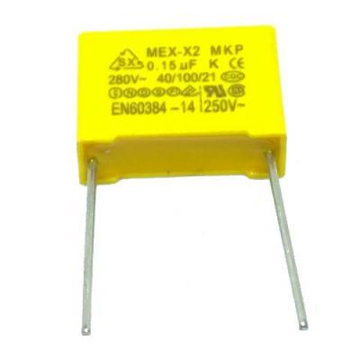 Пленочный конденсатор 0,15uf/275V помехоподавляющий