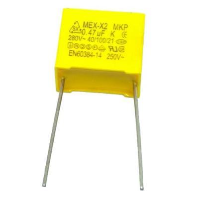 Пленочный конденсатор 0,47uf/280V помехоподавляющий