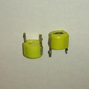 Подстроечный конденсатор dip 40pf