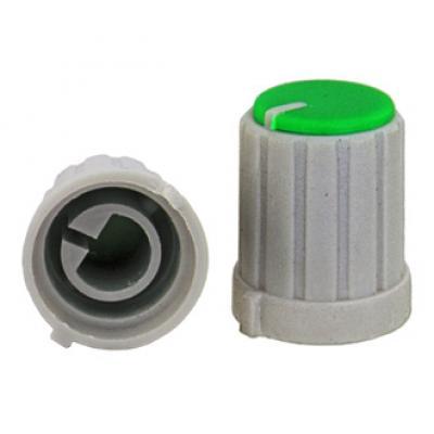 Приборная ручка RR4853 (6mm п.круг зеленый)