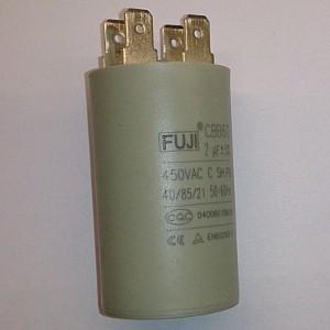 Пусковой конденсатор 2uf/450v FUJI CBB60 30x50mm