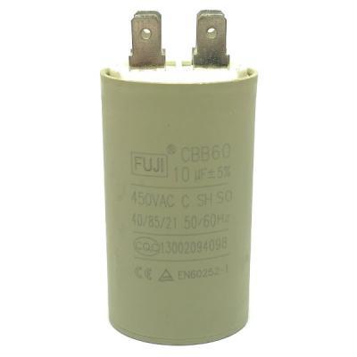 Пусковой конденсатор 10uf/450v FUJI CBB60 35x60mm