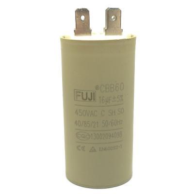 Пусковой конденсатор 16uf/450v FUJI CBB60 35x70mm