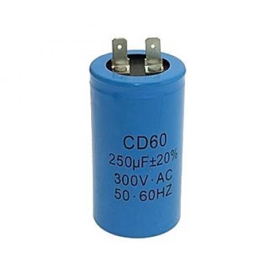 Пусковой конденсатор 250uf/300v CD60