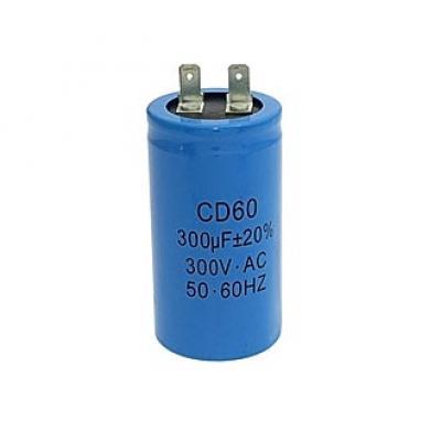 Пусковой конденсатор 300uf/300v CD60