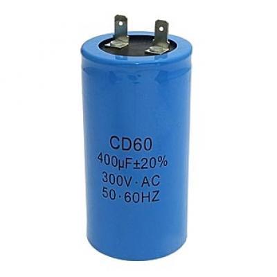 Пусковой конденсатор 400uf/300v CD60