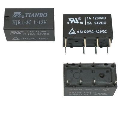 Реле электромеханическое HJR1-2C L 12VDC
