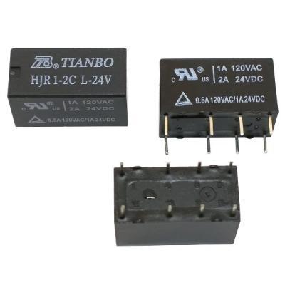 Реле электромеханическое HJR1-2C L 24VDC