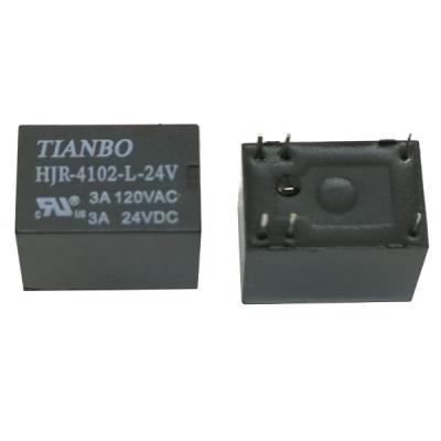 Реле электромеханическое HJR-4102-L-24VDC