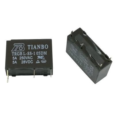 Реле электромеханическое TRGB L-SS-1 05DM (5VDC)
