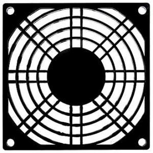 Решетка для вентилятора 92x92 пластик