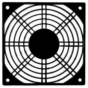 Решетка для вентилятора 120x120 пластик