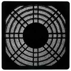 Решетка для вентилятора 92x92 пластик с фильтром