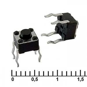 Тактовая кнопка 4.5x4.5x3.8 mm IT-1109