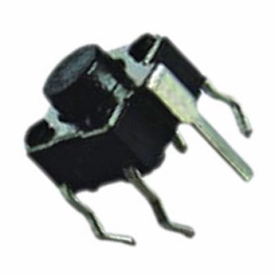Тактовая кнопка 6x6x4.3 mm KAN0621-0431B с заземлением