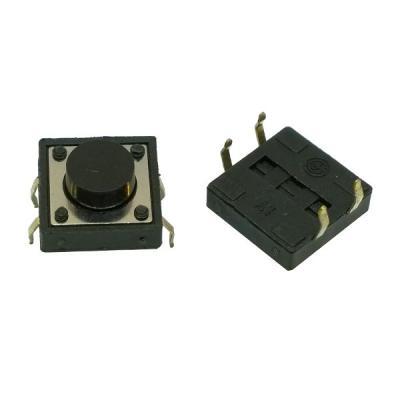 Тактовая кнопка 12x12x6 mm 4 контакта