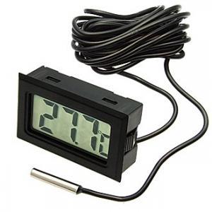 Термометр цифровой HT-1 black 1m