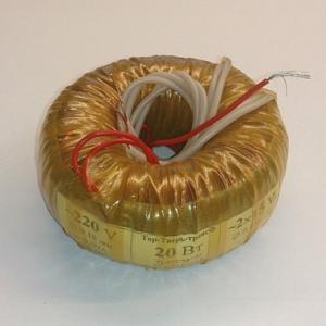 Тороидальный трансформатор 20W 2x24V
