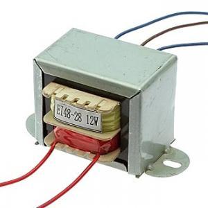 Трансформатор сетевой EI48*28 220v to 2x12v 12W